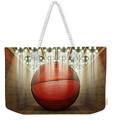Basketball Museum Weekender Tote Bag by James Larkin