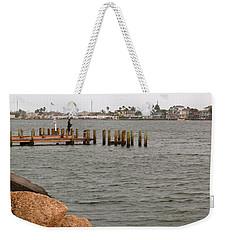 Bay Fishing Weekender Tote Bag