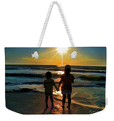 Beach Kids Weekender Tote Bag