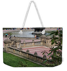 Bethesda Fountain - Central Park Nyc Weekender Tote Bag