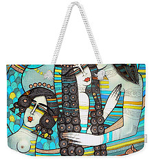 Beyond The Oceans... Weekender Tote Bag