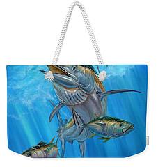 Black Marlin And Albacore Weekender Tote Bag
