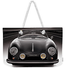 Black Speedster Weekender Tote Bag