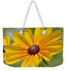 Blackeyed Susan Flower Weekender Tote Bag