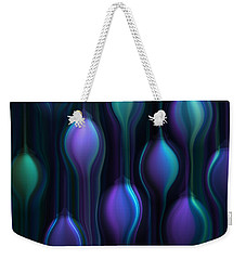 Blue Chandeliers Weekender Tote Bag
