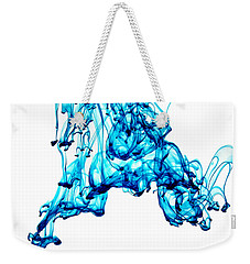 Blue Descent Weekender Tote Bag