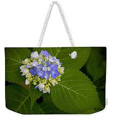 Blue Hydrangea Slow Eruption Weekender Tote Bag