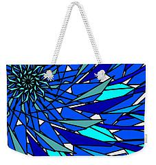 Blue Sun Weekender Tote Bag