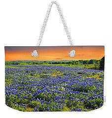 Bluebonnet Sunset  Weekender Tote Bag