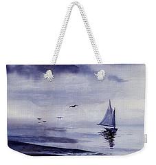 Boat Weekender Tote Bag by Sam Sidders
