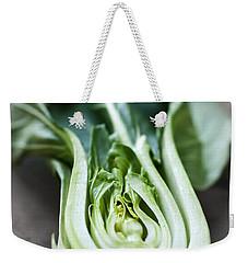 Bok Choy Weekender Tote Bag by Elena Elisseeva