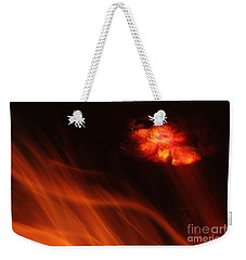 Weekender Tote Bag featuring the photograph Boma by PJ Boylan