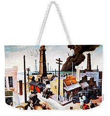 Boomtown Weekender Tote Bag
