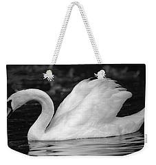 Boston Public Garden Swan Weekender Tote Bag