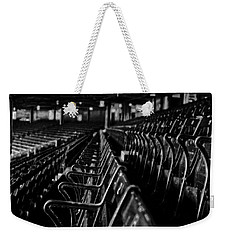 Bostons Fenway Park Baseball Vintage Seats Weekender Tote Bag by Doc Braham