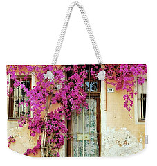 Bougainvillea Doorway Weekender Tote Bag