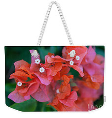 Bougainvillea Weekender Tote Bag by Roselynne Broussard