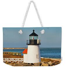 Brant Point Lighthouse Nantucket Weekender Tote Bag