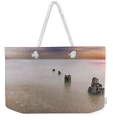Breakwater Weekender Tote Bag by Peter Lakomy
