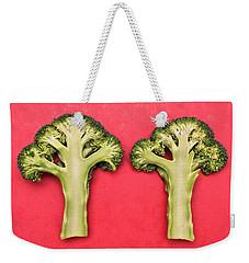 Broccoli Weekender Tote Bag
