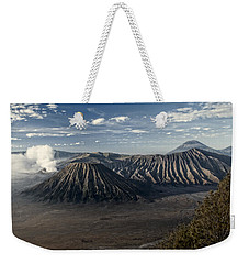Bromo Mountain Weekender Tote Bag by Miguel Winterpacht