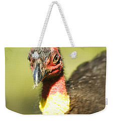 Brush Scrub Turkey Weekender Tote Bag by Jorgo Photography - Wall Art Gallery