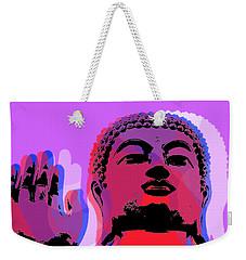 Buddha Pop Art - Warhol Style Weekender Tote Bag