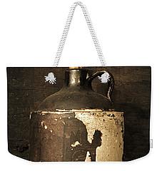 Buddy Bear's Little Brown Jug Weekender Tote Bag