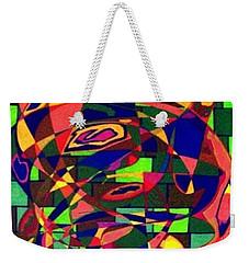 Weekender Tote Bag featuring the painting Bulwark by Jonathon Hansen