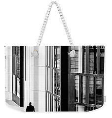 Business Man In Milan Weekender Tote Bag by Alfio Finocchiaro