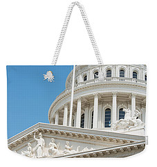 California State Capitol In Sacramento Weekender Tote Bag