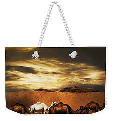 Camels Weekender Tote Bag