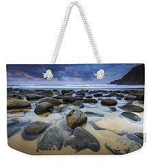 Campelo Beach Galicia Spain Weekender Tote Bag