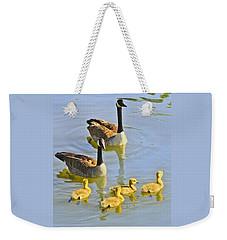 Canadian Goose Family Weekender Tote Bag