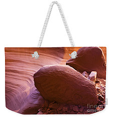 Canyon Rocks Weekender Tote Bag