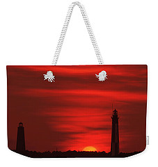 Cape Henry Lighthouses  Weekender Tote Bag