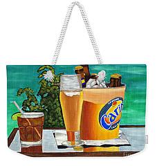 Caribbean Beer Weekender Tote Bag