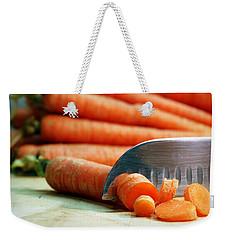 Carrots Weekender Tote Bag by Joseph Skompski