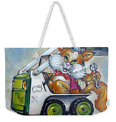 Cat C5x 190312 Weekender Tote Bag
