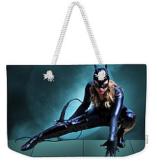 The Feline Fatale Weekender Tote Bag