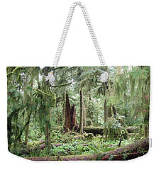 Weekender Tote Bag featuring the photograph Cathedral Grove by Marilyn Wilson