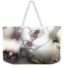 Ceaseless Vicissitude Weekender Tote Bag by Casey Kotas