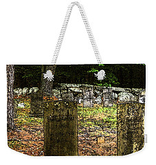 Cemetery Weekender Tote Bag by Mim White