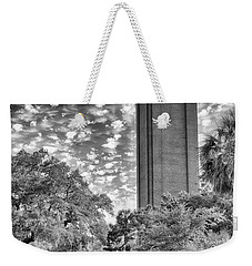 Weekender Tote Bag featuring the photograph Century Tower  by Howard Salmon