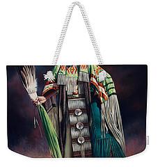Ceremonial Rhythm Weekender Tote Bag