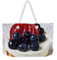 Cheese Cream Cake With Fruit Weekender Tote Bag