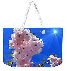 Cherry Blossoms  Weekender Tote Bag by Nick Kloepping