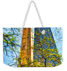 Chicago Water And Hancock Towers Weekender Tote Bag