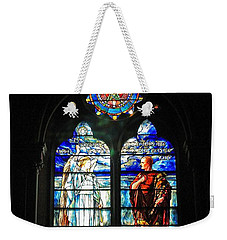 Church Of The Covenant Stained Glass 11 Weekender Tote Bag