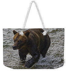 Cinnamon Grizzly Weekender Tote Bag